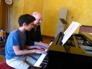 Classe de piano, salle Schubert