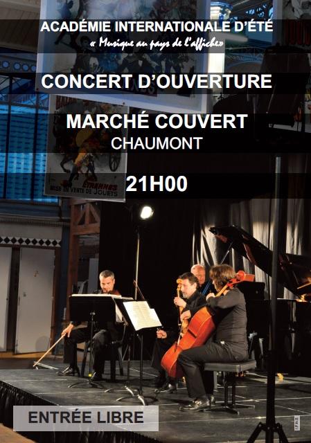 Concert d'ouverture 2014