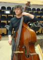 Laurent Mezerette, enseignant de contrebasse