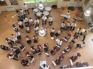 L'Orchestre Symphonietta - Direction Mathias CHARTON