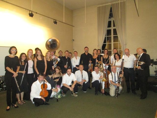 Les professeurs de l'Académie d'Été, du haut niveau pour les instruments