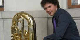 Un nouveau professeur rejoint l'Académie Internationale d'Été, Vincent MORINIERE, tuba
