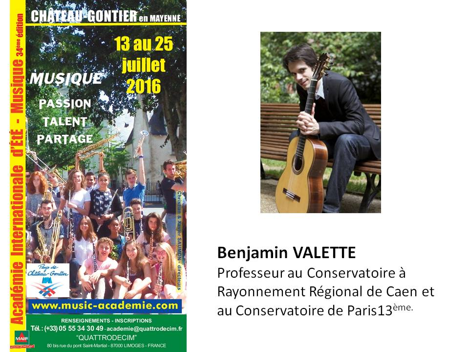 Benjamin VALETTE