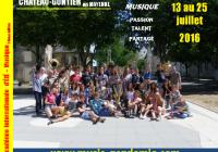 AU SOLEIL DE CHÂTEAU-GONTIER…  La musique est bien plus belle !