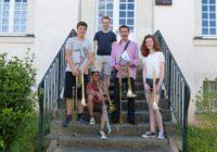 Le Trombone à l'Académie Internationale, Marc ABRY rejoint notre équipe, Guillaume KUNTZEL ne la quitte pas… !