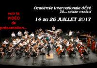 PRÉSENTATION et PROJETS, L'Académie Internationale propose une immersion dans la MUSIQUE.