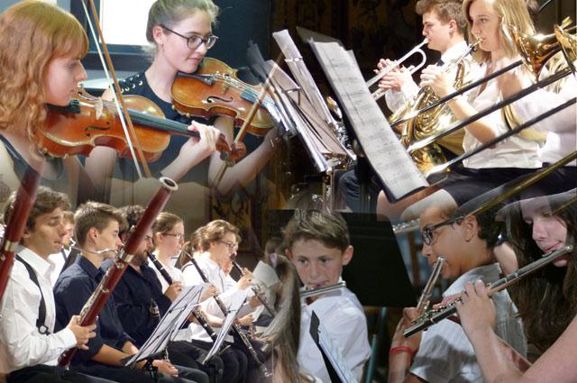 Les classes d'été de l'Académie Internationale se remplissent de jeunes élèves.