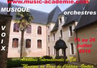 UN SEJOUR PROMETTEUR… 2018, 36ème session pour l'Académie Internationale